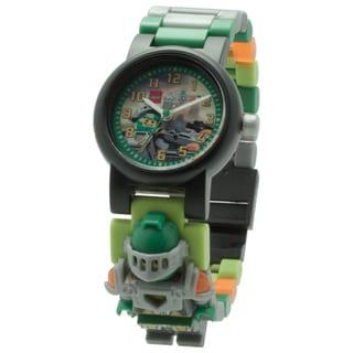 LEGO Nexo Knights Aaron Kid's Interchangeable Links Minifigure Watch
