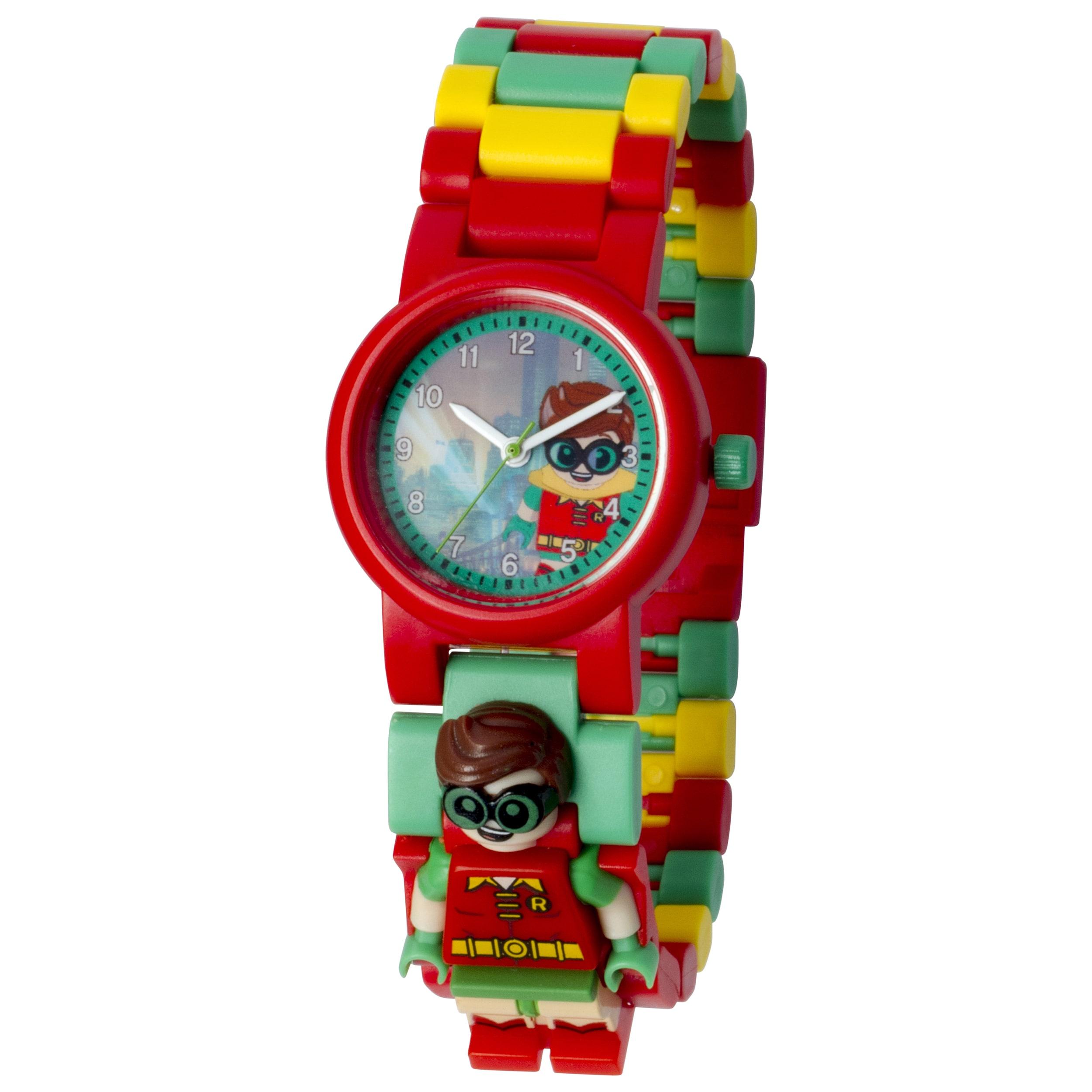 Lego Batman Movie 'Robin' Minifigure Link Watch (Red), Bo...
