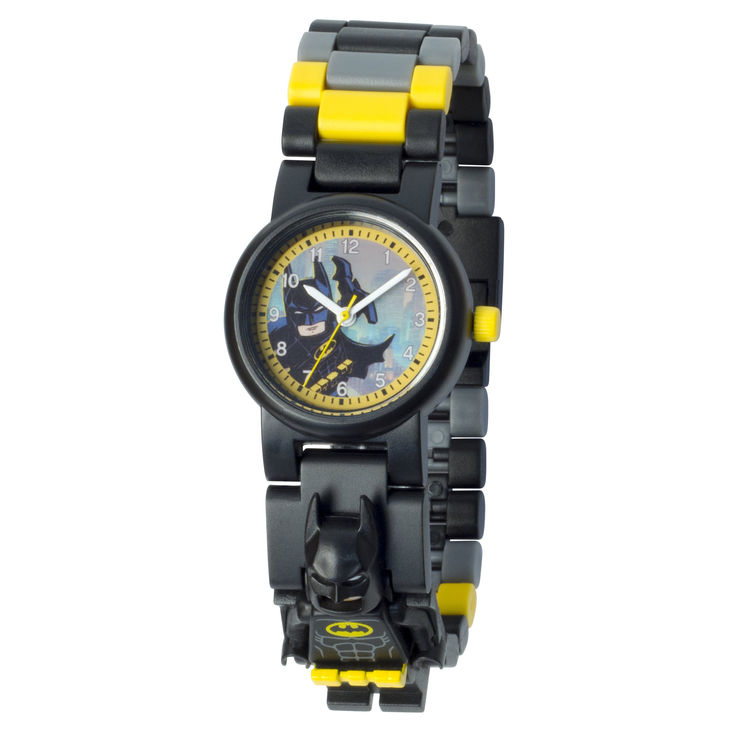 Lego Batman Movie 'Batman' Minifigure Link Watch (Black),...