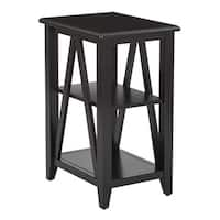 Santa Cruz Black Accent Table
