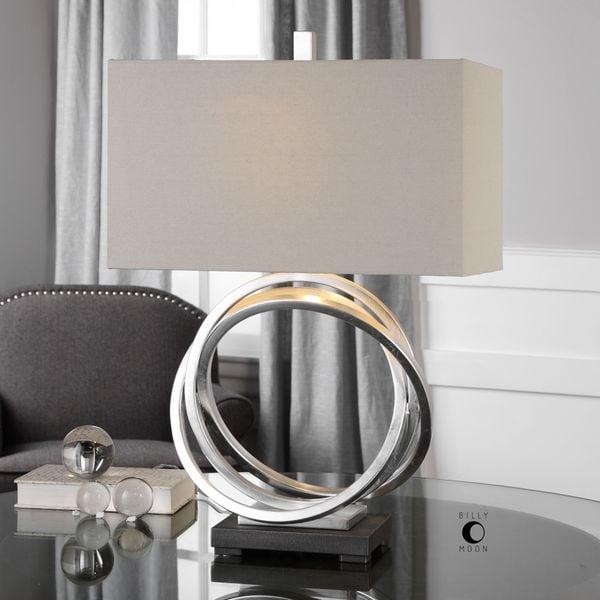 Uttermost Soroca Silver Rings Lamp