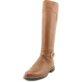 Franco Sarto Women's 'Chandler' Brown Leather Boots