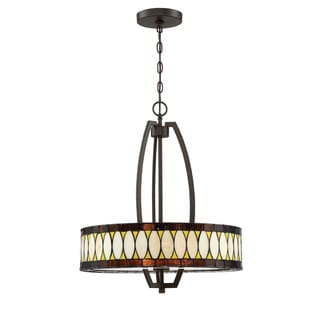 Lite Source 3-Light Geoffrey Pendant Lamp