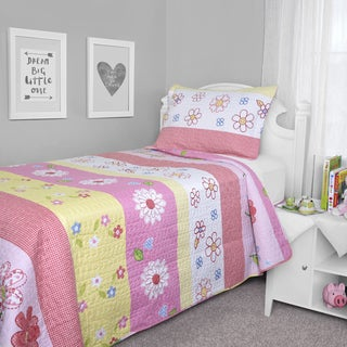 Journee Home Kid's Mindi Printed 2-piece Quilt Set