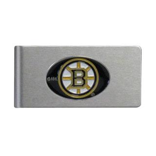 Siskiyou NHL Boston Bruins Brushed Sports Team Logo Metal Money Clip