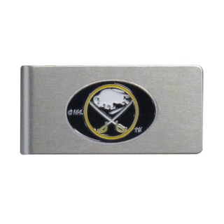 Siskiyou NHL Buffalo Sabres Brushed Metal Sports Team Logo Money Clip