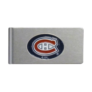Siskiyou NHL Montreal Canadiens Brushed Sports Team Logo Metal Money Clip