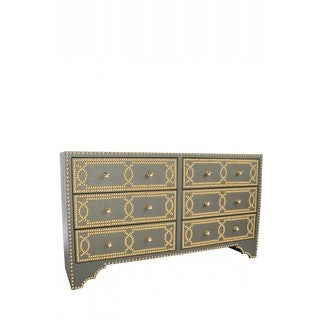Gracie Studded Sideboard