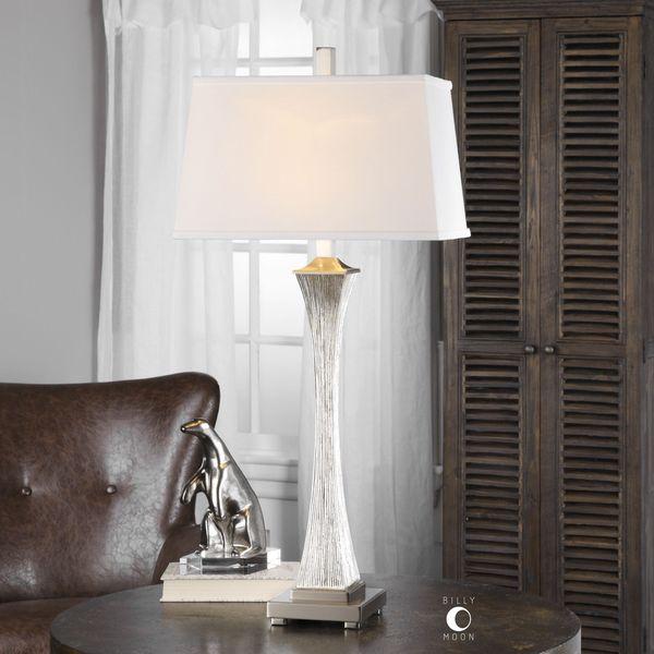 Uttermost Vella Silver Champagne Lamp