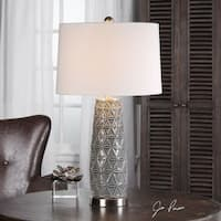 Uttermost Cortinada Stone Gray Lamp