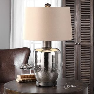 Uttermost Lavelle Mercury Glass Table Lamp