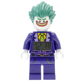 LEGO Batman Movie 'Joker' Light-up Minifigure Alarm Clock