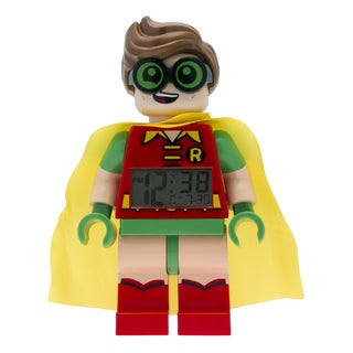 LEGO Batman Movie 'Robin' Light-up Minifigure Alarm Clock