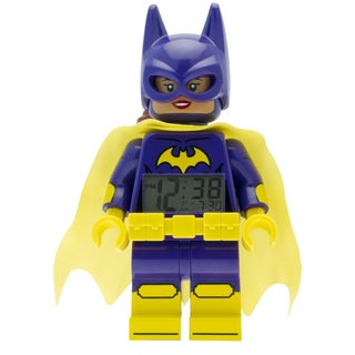 LEGO Batman Movie 'Batgirl' Light-up Minifigure Alarm Clock