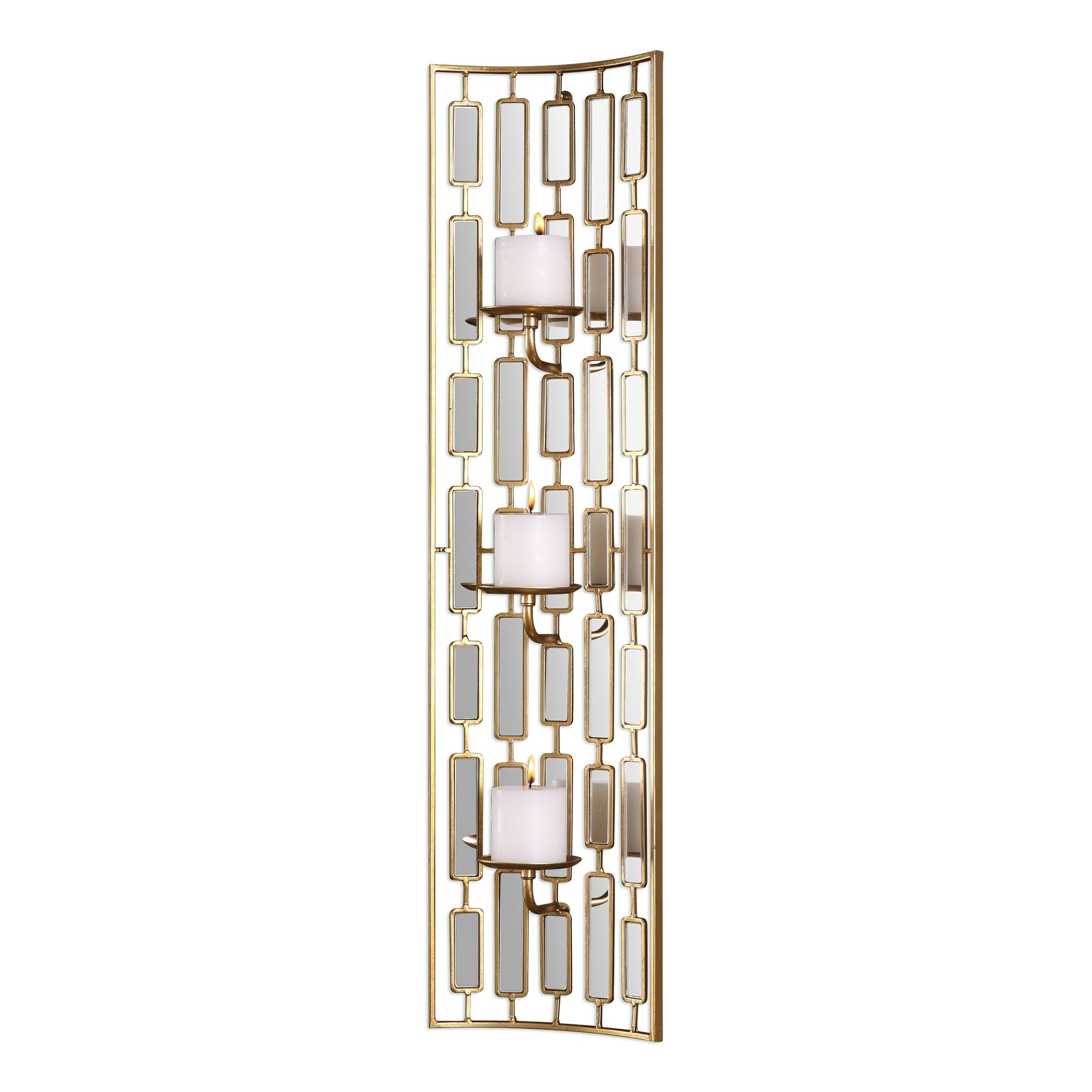 Uttermost Loire Mirrored Wall Sconce (Mirrored)