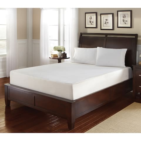 WHITE by Sarah Peyton 14-inch California King Gel Memory Foam Mattress