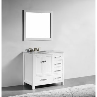 Inno White 36-Inch Single Bathroom Vanity