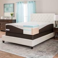Comforpedic from Beautyrest 14-inch California King-size Gel Memory Foam Mattress Set