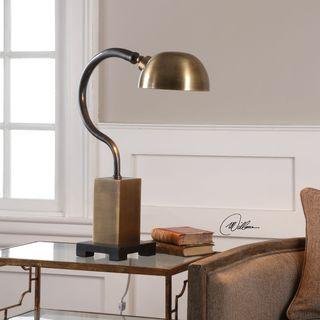 Uttermost Gennaro Antique Brass Accent Lamp