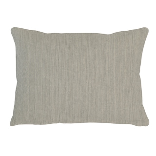Kosas Home Aiden 12inchesx16inches Grey Linen and Cotton Feather and Down Filled Down and Feather Filled Throw Pillow