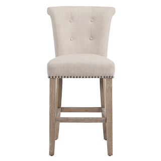 Selma Beige Fabric Counter Stool (Set of 2)  sc 1 st  Overstock.com & Wood Counter Height - 23-28 in. Bar u0026 Counter Stools - Shop The ... islam-shia.org