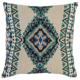 Kosas Home Lapu Embroidered 18-inch Throw Pillow
