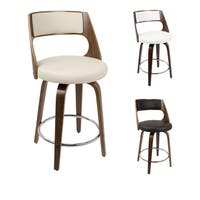 Strick & Bolton Blakey Mid-century Modern 24-inch Counter Stool