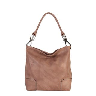 Pu Leather Hobo Womens Purse Handbag L