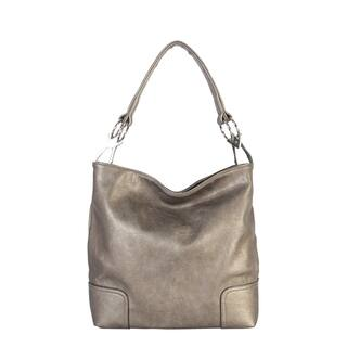 Pu Leather Hobo Womens Purse Handbag L