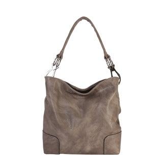 Rimen & Co. PU Leather Hobo Womens Purse Handbag - L (2 options available)