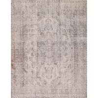 Hand-knotted Overdyed Collection Lamb's Wool Area Rug (9'4 x 12'1)