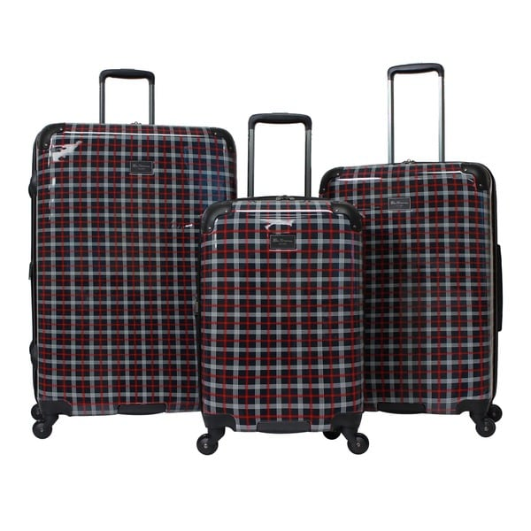 Ben Sherman Glasgow 3-Piece Lightweight Luggage Set - Free ...