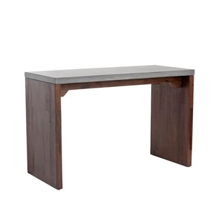 Sunpan Madrid Wood Bar Table