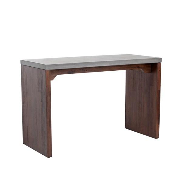Sunpan Madrid Wood Bar Table