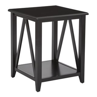 Santa Cruz Black End Table