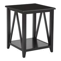 Santa Cruz Black End Table
