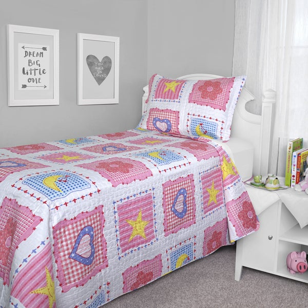 Journee Home Kid's Tilly Printed 2-piece Quilt Set