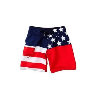 Azul Swimwear Boy's Old Glory Polyester Boardshorts