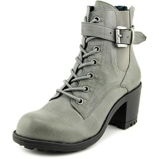 Coconuts By Matisse Women's Quebec Grey Faux Leather Boots