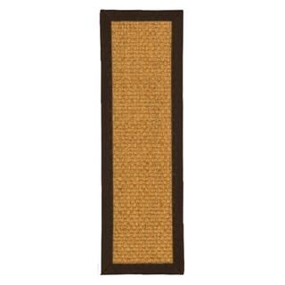 "Handcrafted Amalfi Sisal Carpet Stair Treads 9"" x 29"" (Set of 13)"