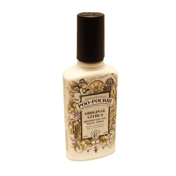 Poo-Pourri 8-ounce Original Citrus Before-You-Go Toilet Spray