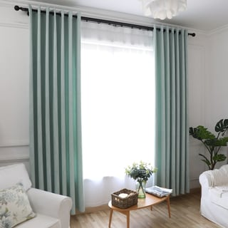 Elegant Thermal-insulated Grommet Blackout Window Curtain Panel