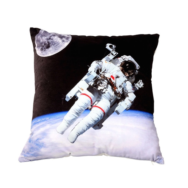Galaxy Space Universe Polyester Throw Pillow