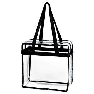 Women's Transparent Plastic Tote Handbag