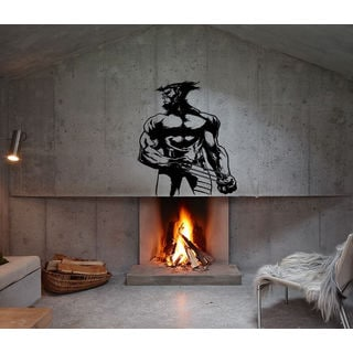 Wolverine decal Superheroes stickers Vinyl Stylish Wall Art Sticker Decal size 33x45 Color Black