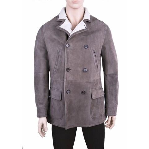 Brunello Cucinelli Men's Shearling Coat (Size L)