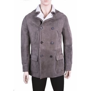 Brunello Cucinelli Men's Shearling Coat (Size L)
