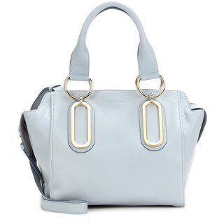 See by Chloe Paige Dusty Blue Leather Handbag