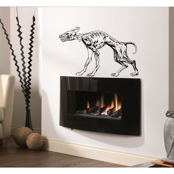 Pitbull Breed Decal Pet Animal Family Wall Decal Brit Sticker Dog Puppy Sticker Decal Size 22x30 Color Black