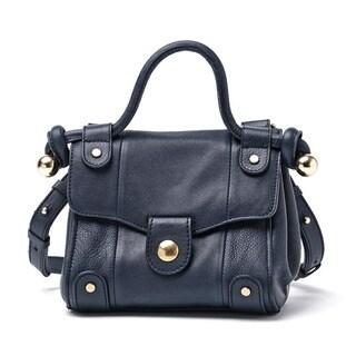 See by Chloe Dixie Navy Leather Crossbody Handbag
